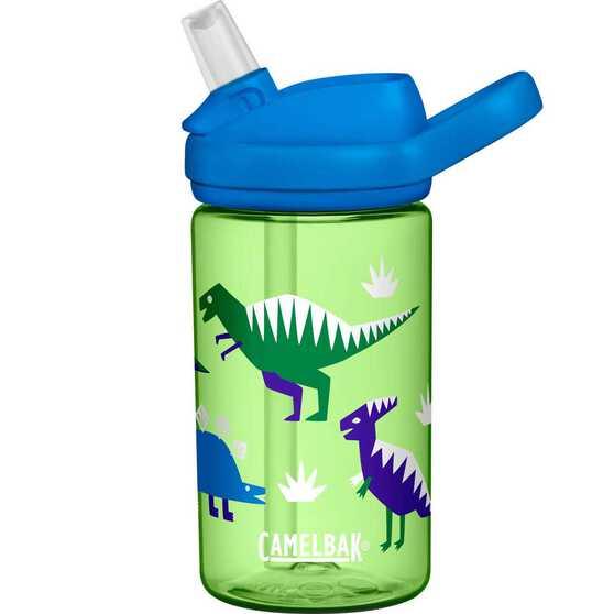 Camelbak Kids Eddy Plus Drink Bottle 400ml Hip Dinos, Hip Dinos, bcf_hi-res