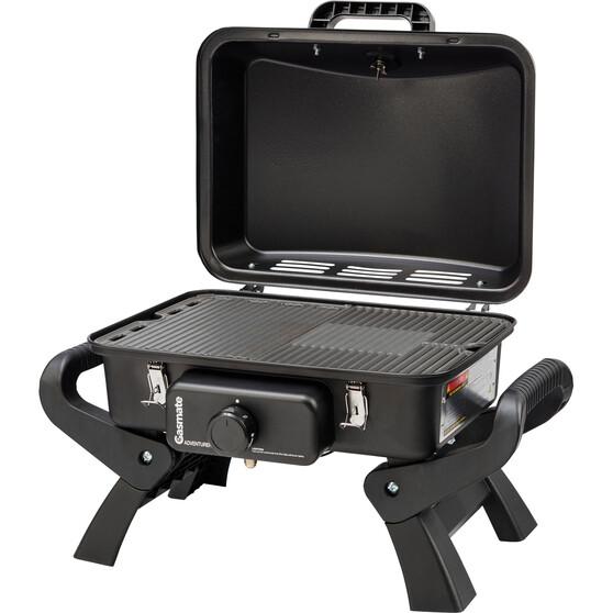 Gasmate Adventurer Deluxe Single Burner Portable BBQ, , bcf_hi-res