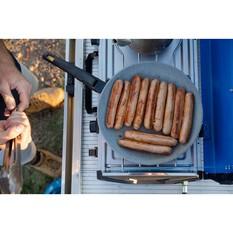 Campfire Frypan with Detachable Handle 28cm, , bcf_hi-res