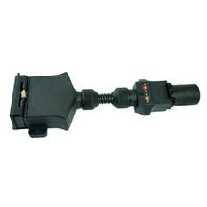 Trailer Adaptor - Flat Plug to Small Socket, , bcf_hi-res