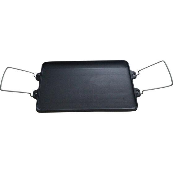 2 Burner Reversible Cast Iron Cook Plate, , bcf_hi-res
