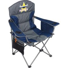 NRL North Queensland Cowboys Camp Chair, , bcf_hi-res