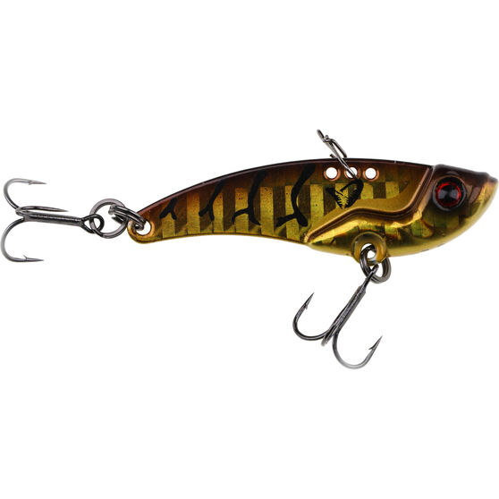 Savage 3D Minnow Blade Lure 8.5g Gold Red Stripe, Gold Red Stripe, bcf_hi-res