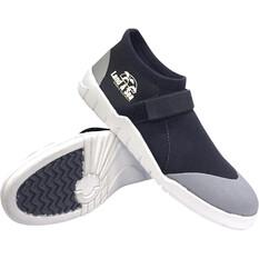 Land & Sea Men's Moulded Sole Aqua Shoes Black 6, Black, bcf_hi-res
