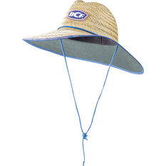 Kids' Straw Hat Natural 52cm, Natural, bcf_hi-res