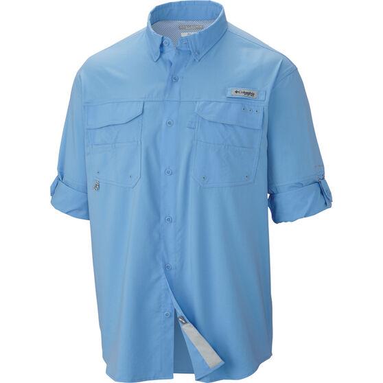 Columbia Men's Blood and Guts Long Sleeve Shirt, White Cap, bcf_hi-res