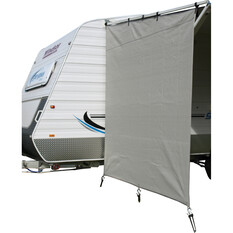 Camec Caravan Privacy Screen 2m x 1.8m Pop Top, , bcf_hi-res