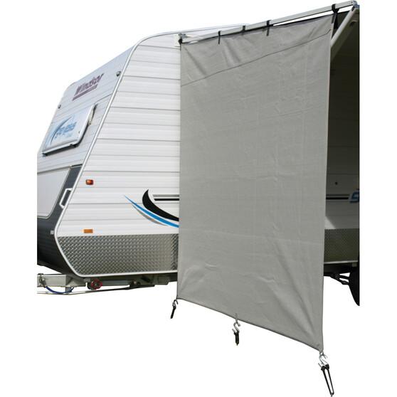 Camec Caravan Privacy Screen 2m x 1.8m Pop Top, , bcf_hi-res