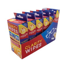 Pacific Optics Clarity Wipes 16 Pack, , bcf_hi-res