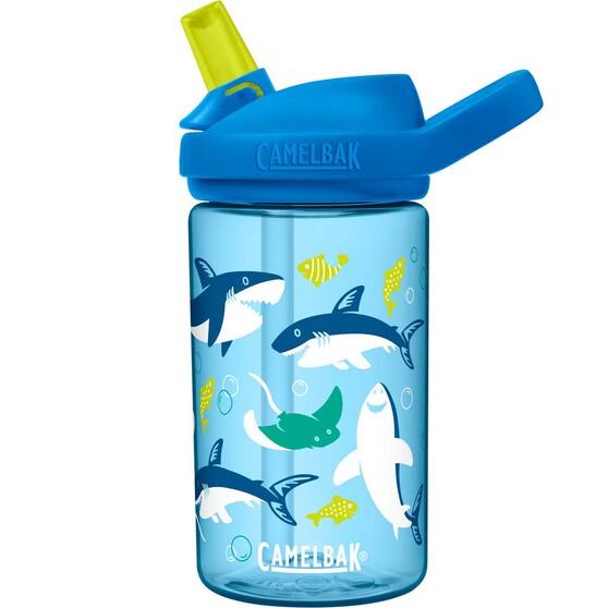 Camelbak Eddy Kids 400ml Sharks Drink Bottle Sharks, Sharks, bcf_hi-res