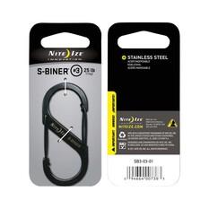 Nite Ize Steel Black S-Biner, , bcf_hi-res