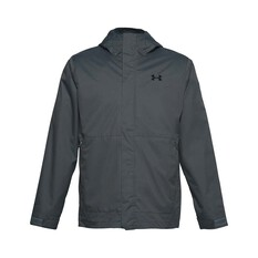 Under Armour Men's 3-in-1 Jacket Pitch Gray / Black S, Pitch Gray / Black, bcf_hi-res