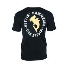Tide Apparel Men's Hammered Tee Black S, Black, bcf_hi-res