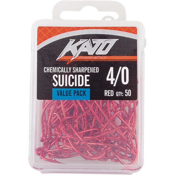 Kato Suicide Hook 60 Pack Size 4 / 0, , bcf_hi-res