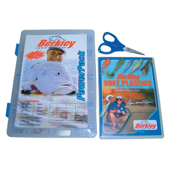 Berkley PowerBait Soft Plastic Lure Kit, , bcf_hi-res
