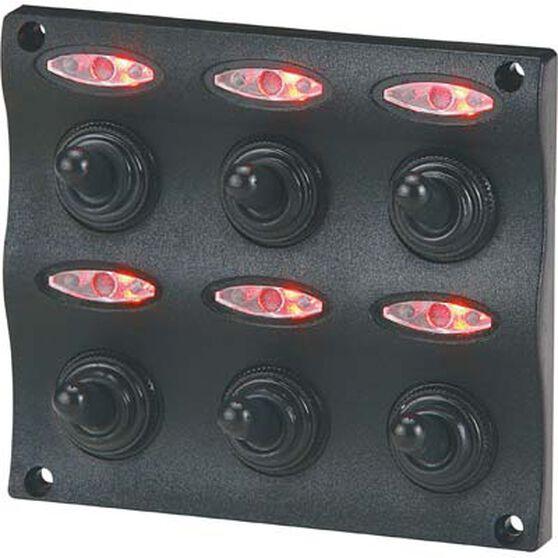 Blueline LED Switch Panel 6 Gang, , bcf_hi-res