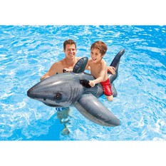 Intex Inflatable Ride On Great White Shark, , bcf_hi-res