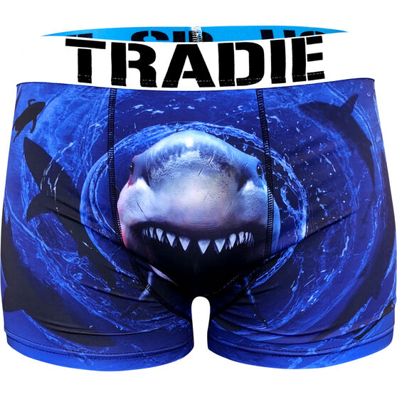 Tradie Men's Whirlpool Trunks, Whirlpool, bcf_hi-res