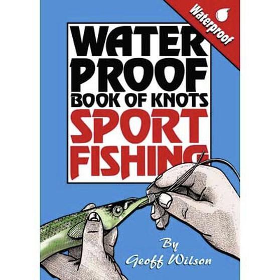 AFN Waterproof Book Of Sports Fishing Knots, , bcf_hi-res