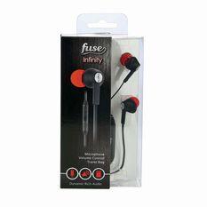 Fuse Audio Infinity In Ear Headphones Black, Black, bcf_hi-res