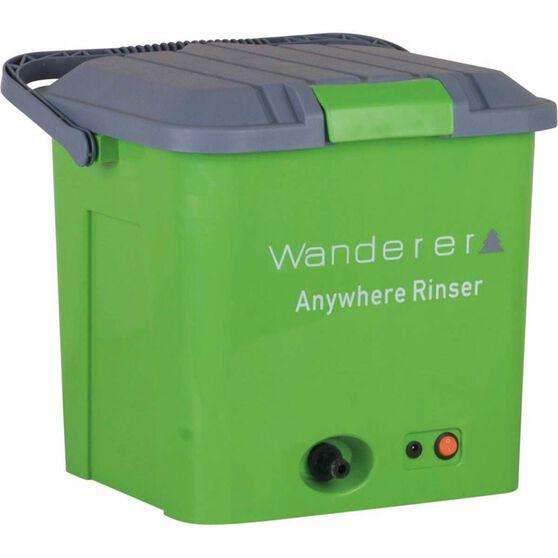 Wanderer Anywhere Rinser Shower Kit 12V, , bcf_hi-res