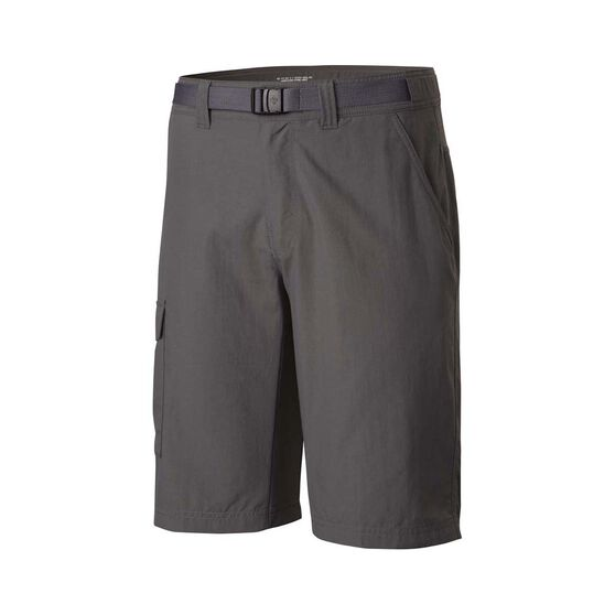 Columbia Mens Cascade Explore Shorts, Grill, bcf_hi-res