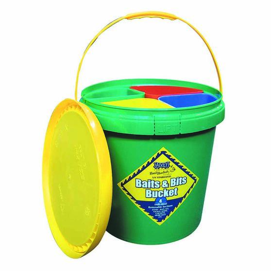 Alvey 4 Compartment Bait Bucket, , bcf_hi-res
