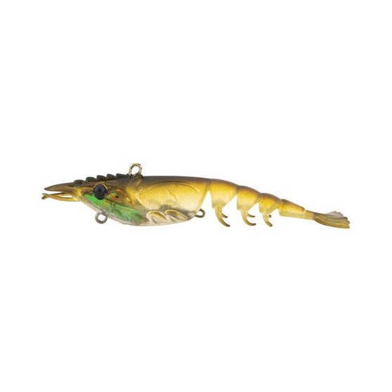 Berkley Shimma Shrimp Soft Vibe Lure 65mm Olive Shrimp, Olive Shrimp, bcf_hi-res