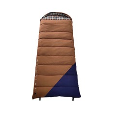 Wanderer Grand Yarra Cotton Hooded -9.6C Sleeping Bag, , bcf_hi-res
