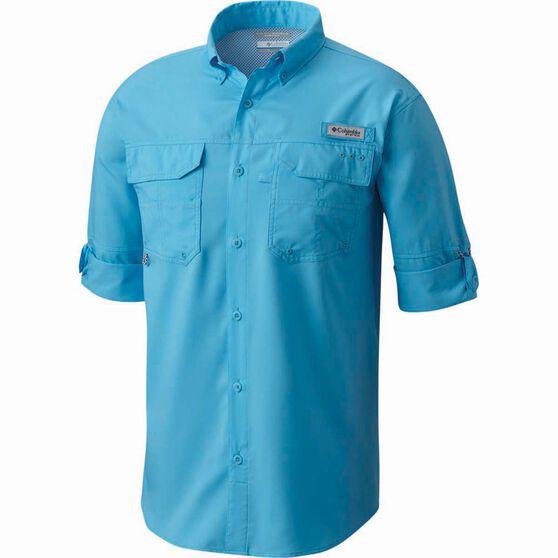 Columbia Men's Blood and Guts III Long Sleeve Shirt, Riptide, bcf_hi-res