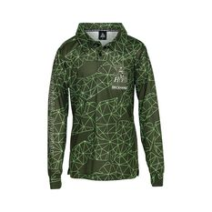 The Mad Hueys Youth Offshore Tech Fishing Jersey Green 8, Green, bcf_hi-res