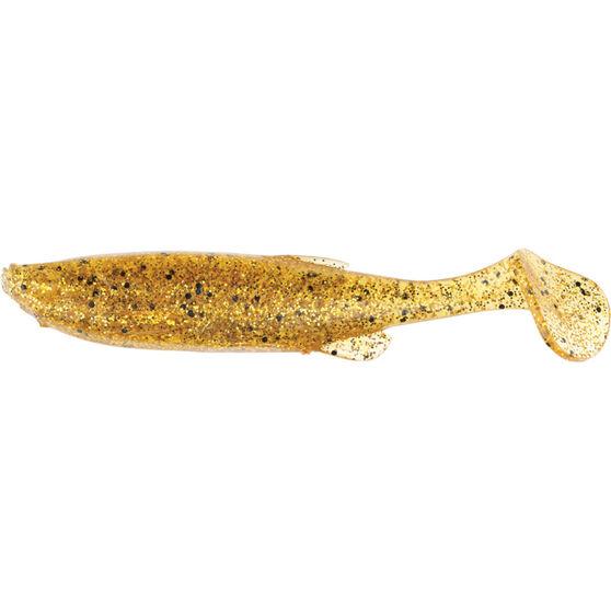 Savage Fat T Tail Soft Plastic Lure 7.5cm Golden, Golden, bcf_hi-res
