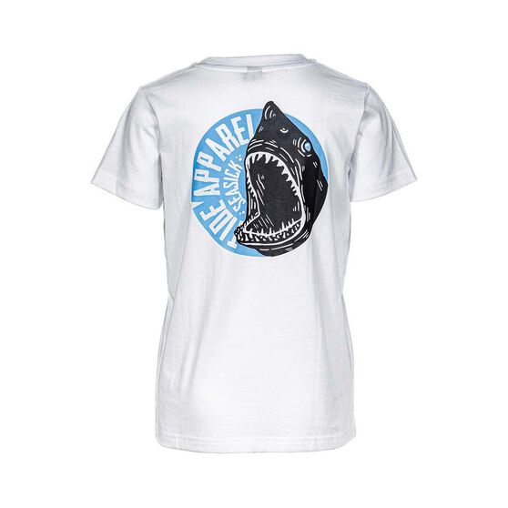 Tide Apparel Youth's Seasick Tee, White, bcf_hi-res