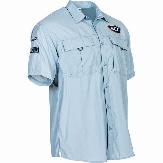 BCF Short Sleeve Fishing Shirt Spray S, , bcf_hi-res