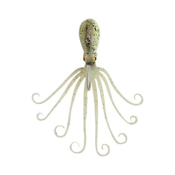 Savage 3D Octopus Lure 300g 22cm Glow UV, Glow UV, bcf_hi-res