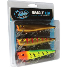 Killalure 2Deadly By Lance Butler Hard Body Lure 120mm 3 Pack, , bcf_hi-res
