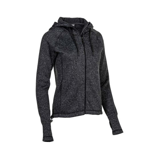 OUTRAK Escarpment Jacket - Womens, Charcoal Marle, 8, Charcoal Marle, bcf_hi-res