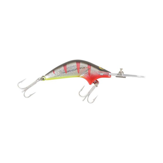 RMG Poltergeist Standard Hard Body Lure 80mm Silver Black Red, Silver Black Red, bcf_hi-res