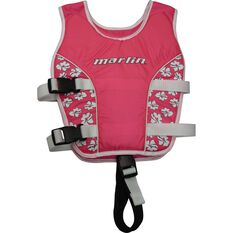 Marlin Australia Kids' Swim Vest Pink S, Pink, bcf_hi-res