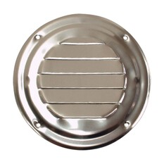 BLA 102mm Round Stainless Steel Louvre Vent, , bcf_hi-res