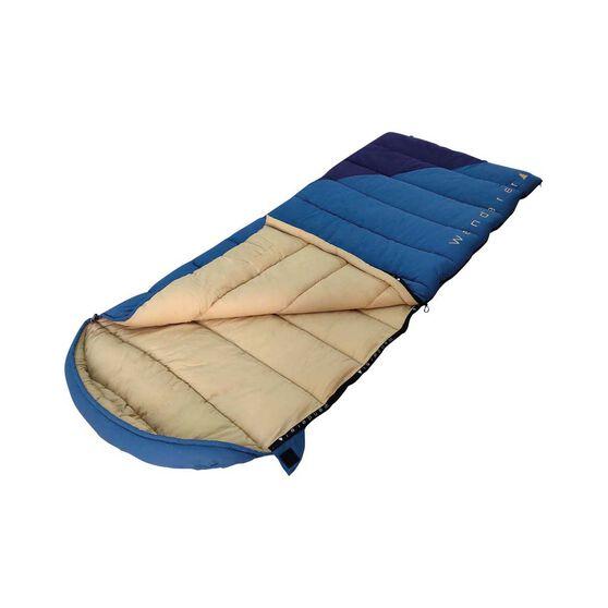 Wanderer Grand Nepean Cotton Hooded  Sleeping Bag, , bcf_hi-res