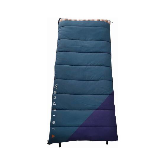 Wanderer Grand Yarra Cotton Camper -1.9C Sleeping Bag, , bcf_hi-res