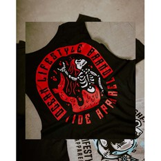 Tide Apparel Mens Ocean Muscle Tee, Black, bcf_hi-res