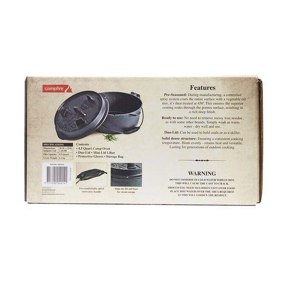 Pioneer Premium Camp Oven 4.5 Quart 4.5 Quart, , bcf_hi-res