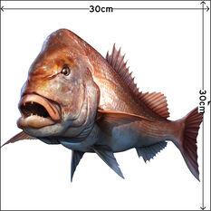Savage Fishing Sticker Large 2 Pack, , bcf_hi-res