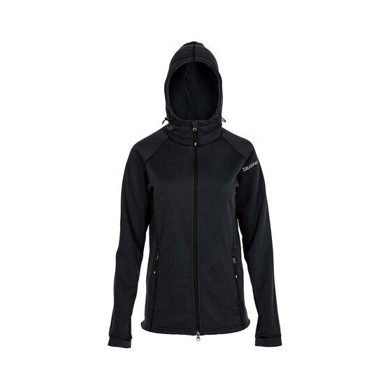 Daiwa Womens Active Fleece Jacket, Black, bcf_hi-res
