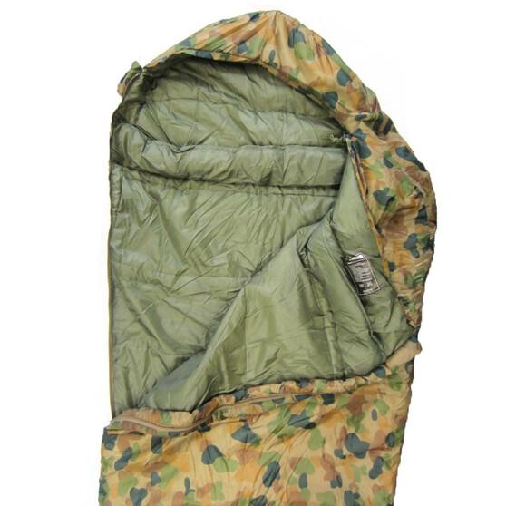 Caribee Auscam Deploy 1300 Hooded Sleeping Bag, , bcf_hi-res