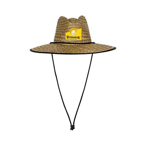 Bundaberg Rum Men's Straw Hat, , bcf_hi-res