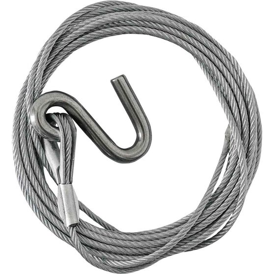 S Hook Cable 6m x 44mm, , bcf_hi-res