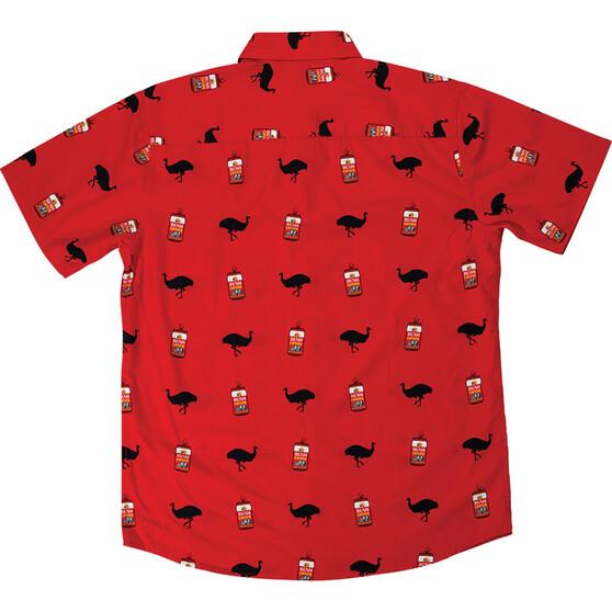 Bush Chook Men's Filthy Chook Button-Up Shirt, Print, bcf_hi-res